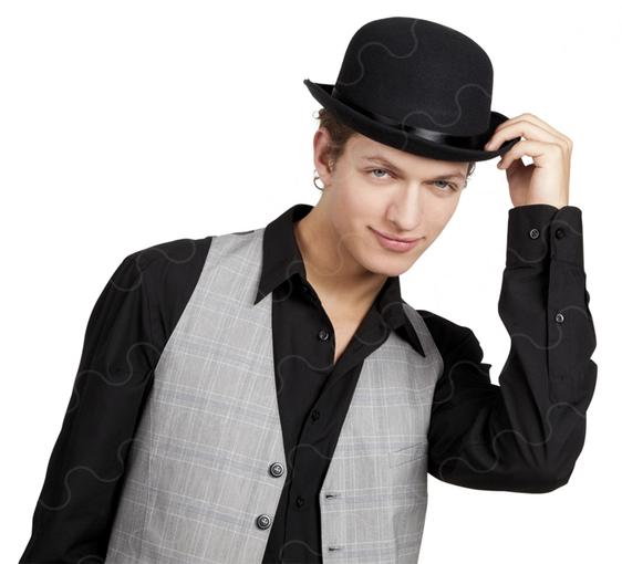 Cappello bombetta - Tutte le offerte   Cascare a Fagiolo e03185f62af9